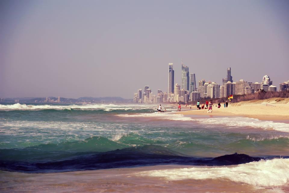 Australia: The Southport Spit, Gold Coast