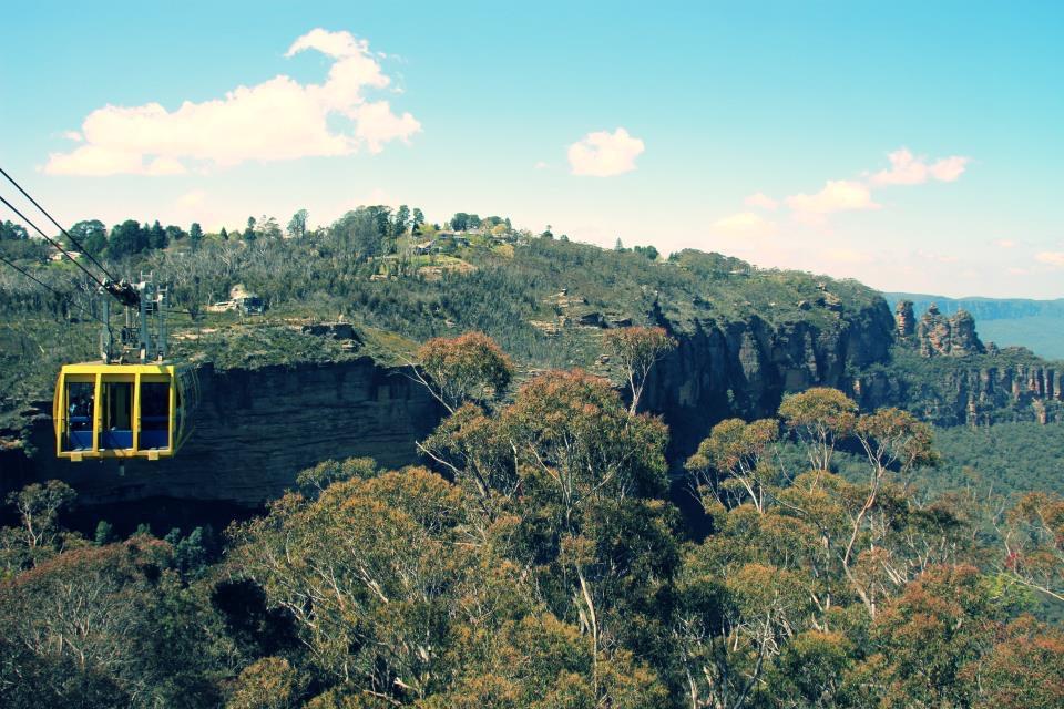 Australia: The Blue Mountains & Featherdale Wildlife Park