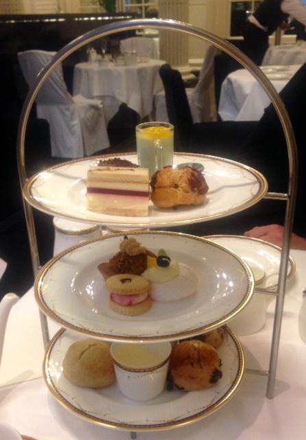 England: Afternoon Tea, The Waldorf Hilton, London