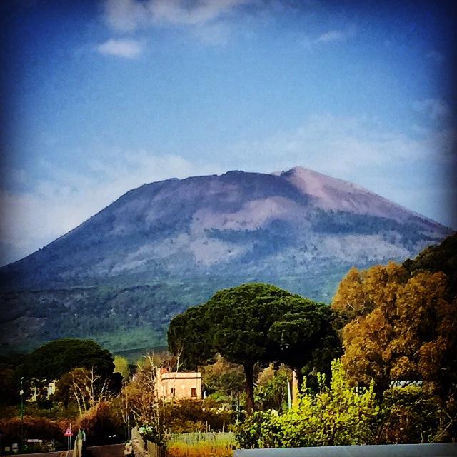 Italy: Conquering Mt Vesuvius