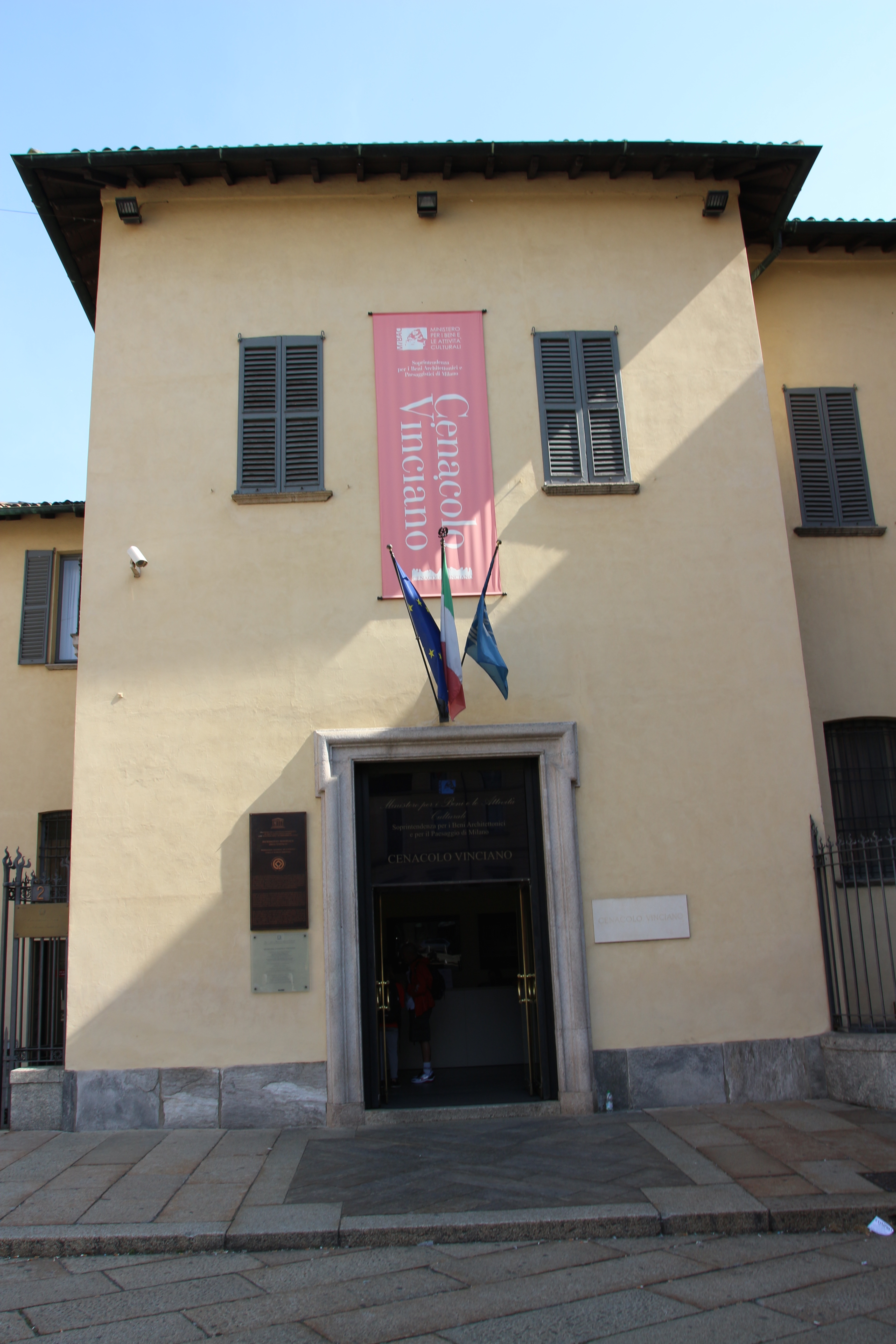 Ticket Office at Santa Maria Delle Grazie church, Milan