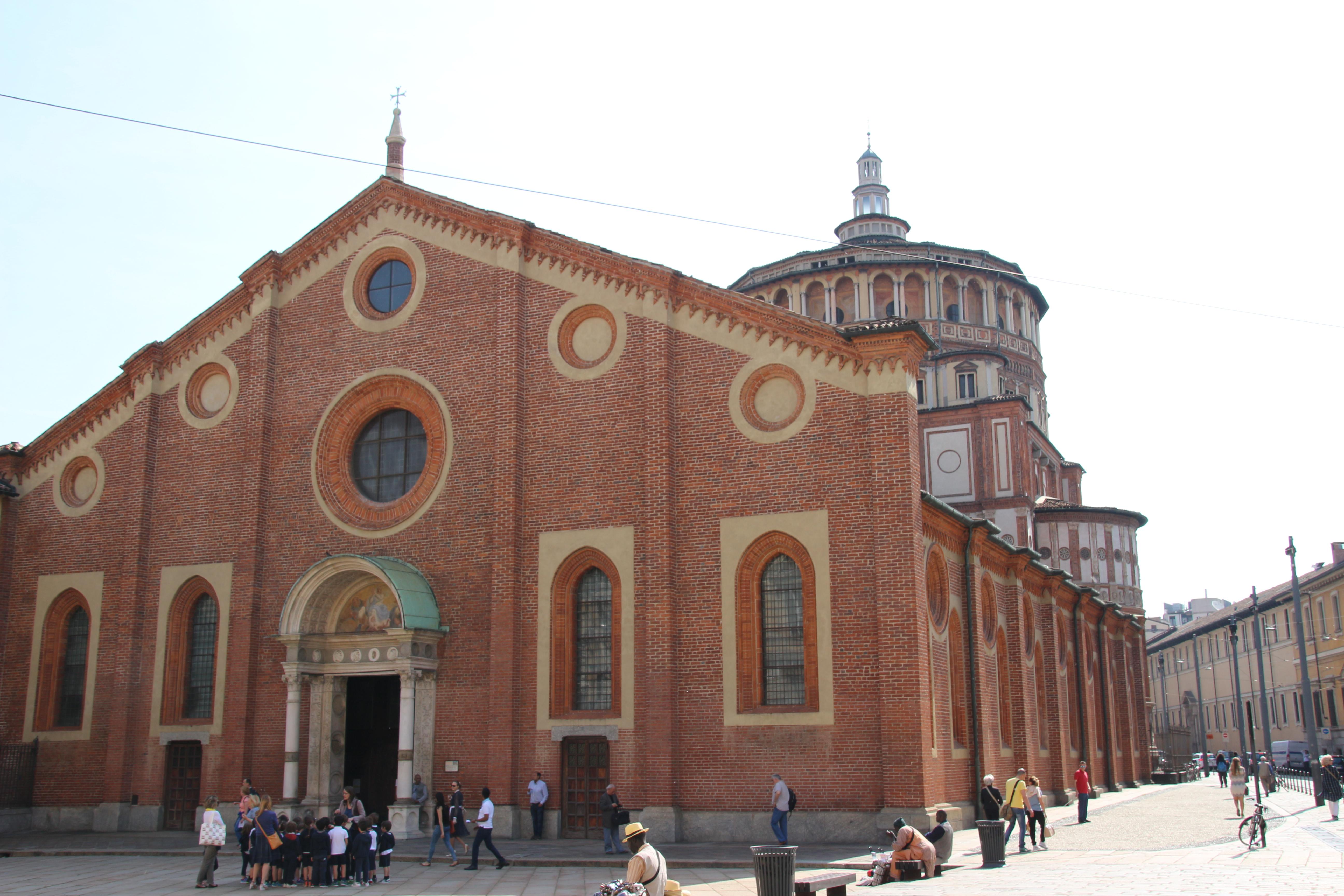 Santa Maria Delle Grazie church, Milan