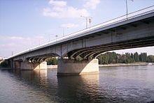 The Arpad Bridge, Budapest