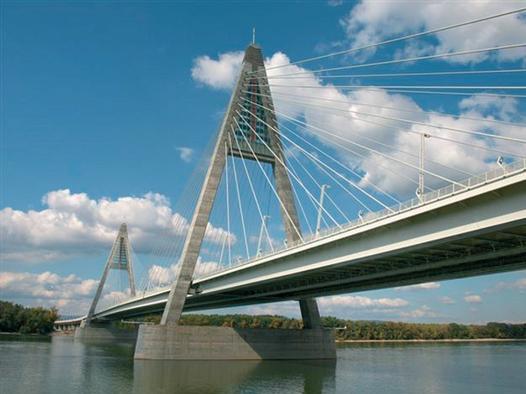The Megyeri Bridge, Budapest