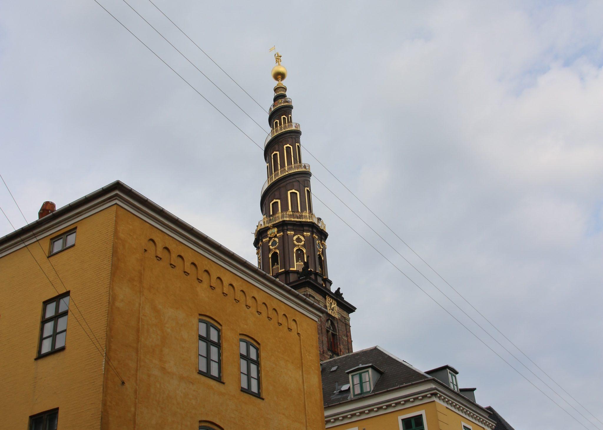 The Church of Our Saviour in Copenhagen, Denmark