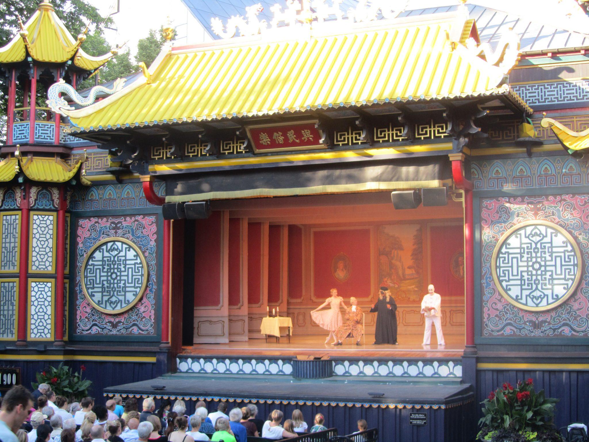 Pantomime at Tivoli, Copenhagen, Denmark