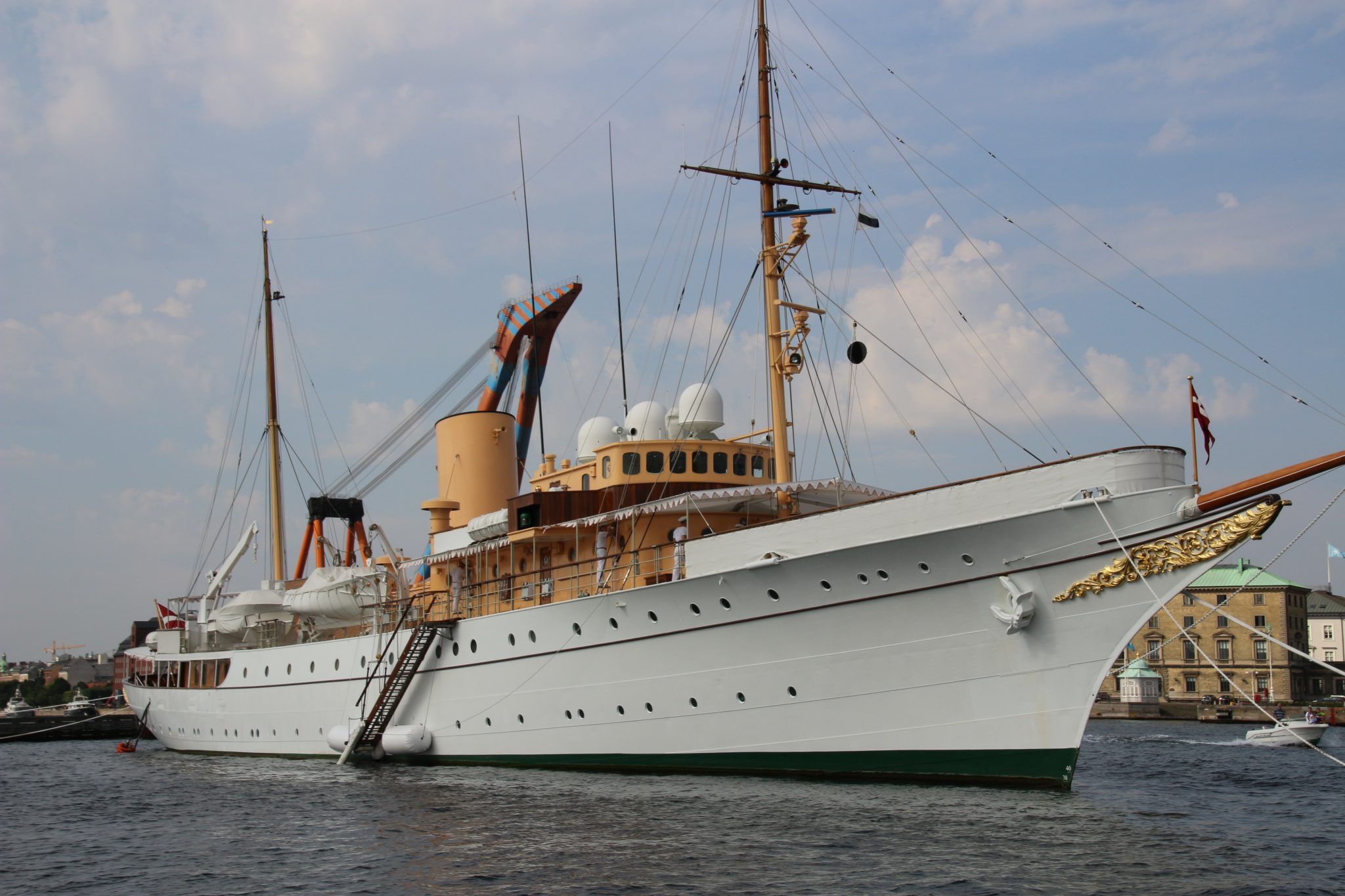 Danish Royal Yacht in Copenhagen