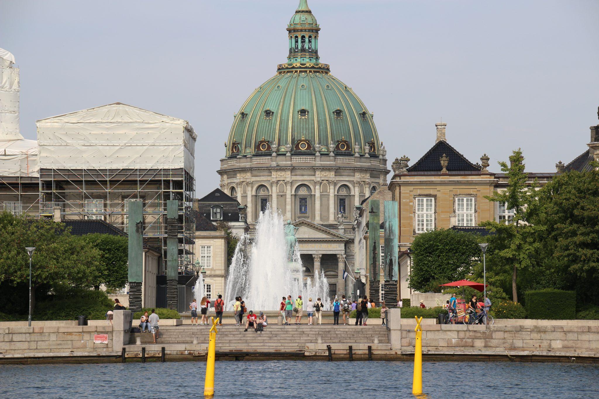 Amalienborg, the Danish Royal Family's winter home in Copenhagen