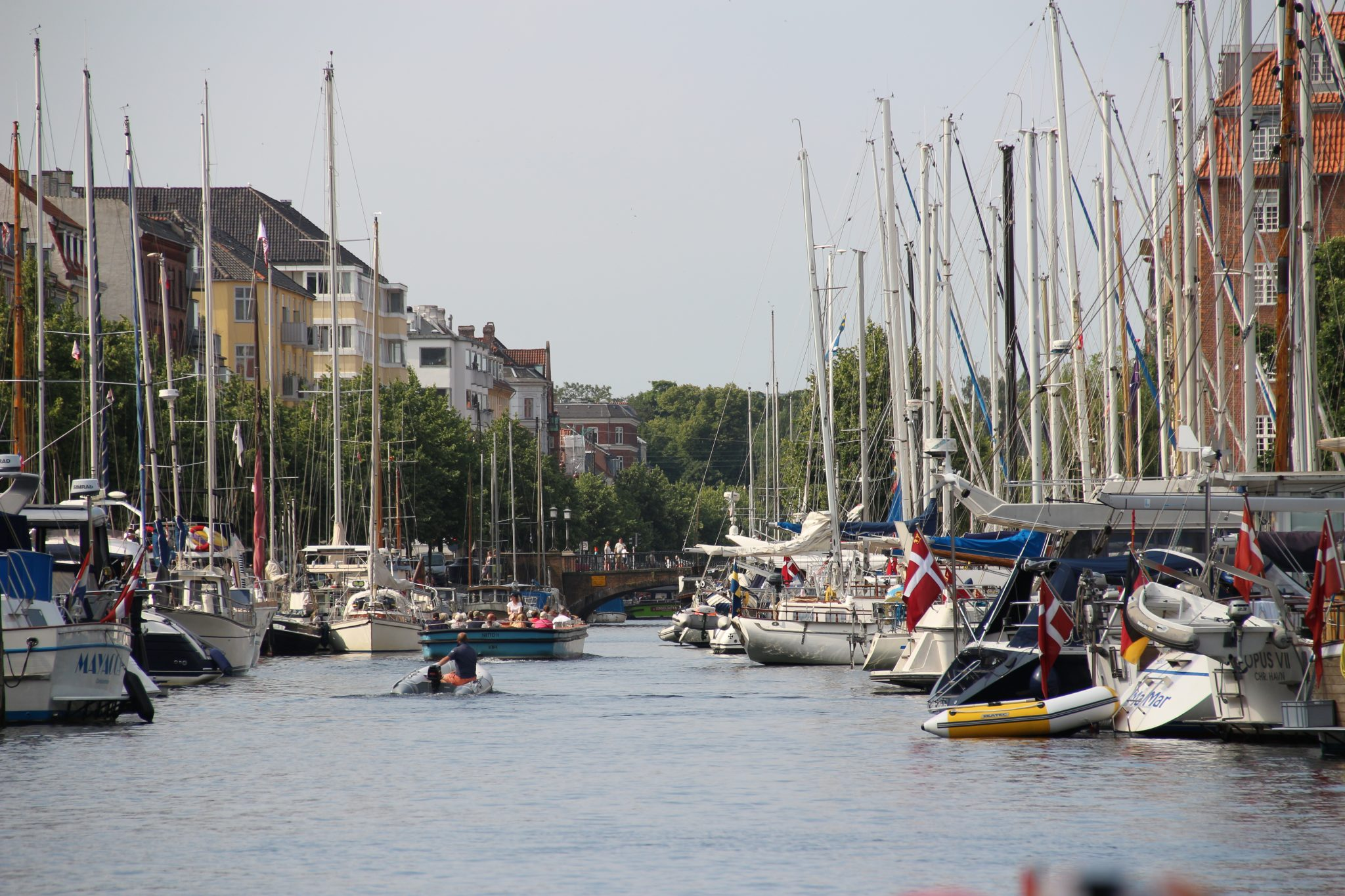 Canals of Copenhagen, Denmark