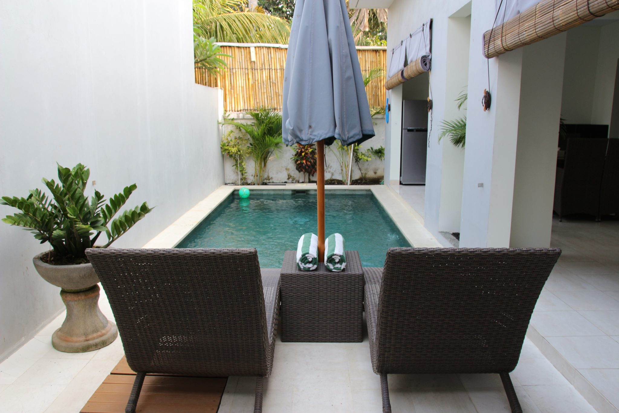 Swimming Pool at Bahagia Villas, Sanur, Bali