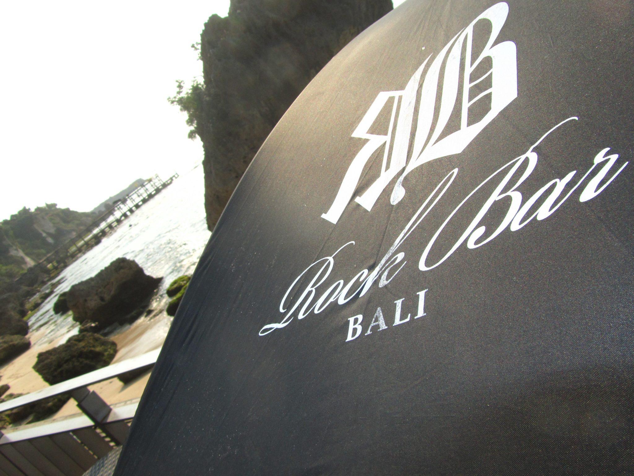 Umbrella at The Rock Bar, Bali
