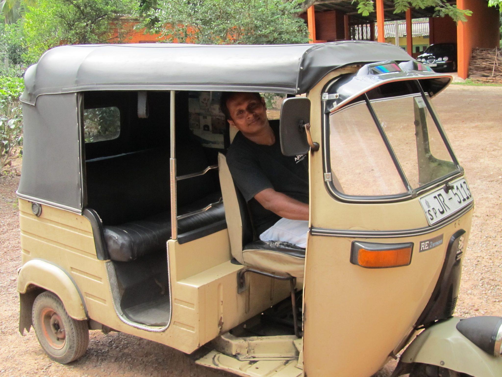 Tuk tuk in Galle, Sri Lanka