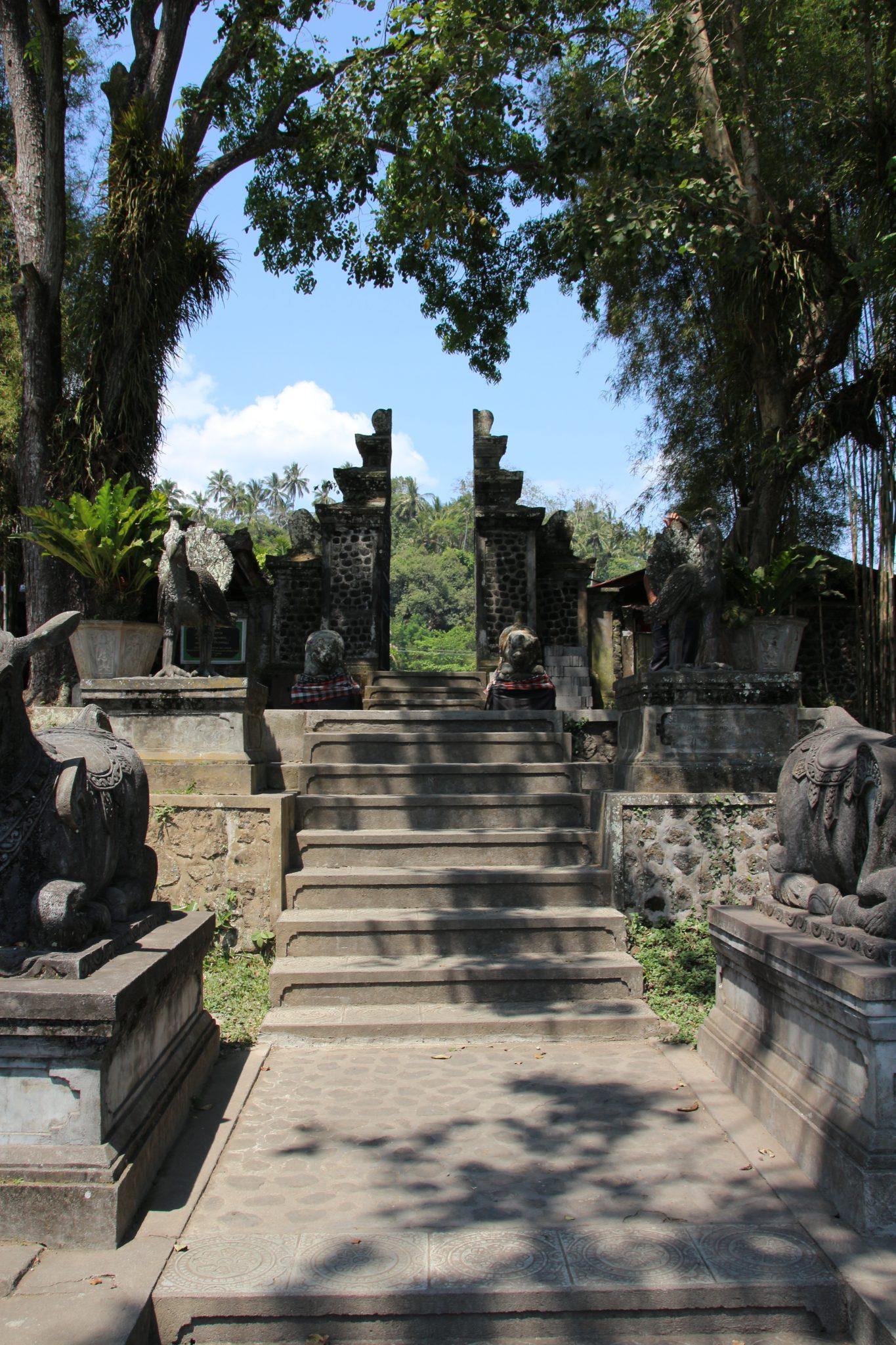 Entrance to Tirta Gangga Water Palace, Bali