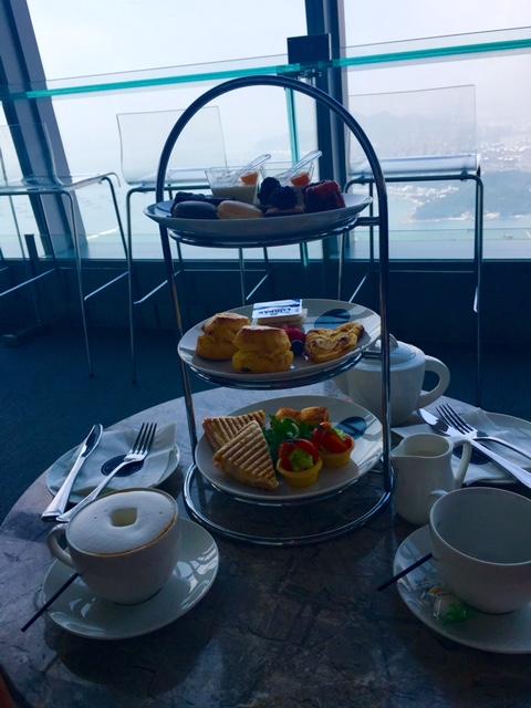Hong Kong: High Tea, High Up – Sky 100 Observation Deck