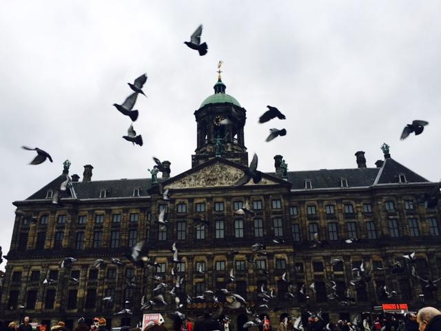Town Hall, Dam Square, Amsterdam