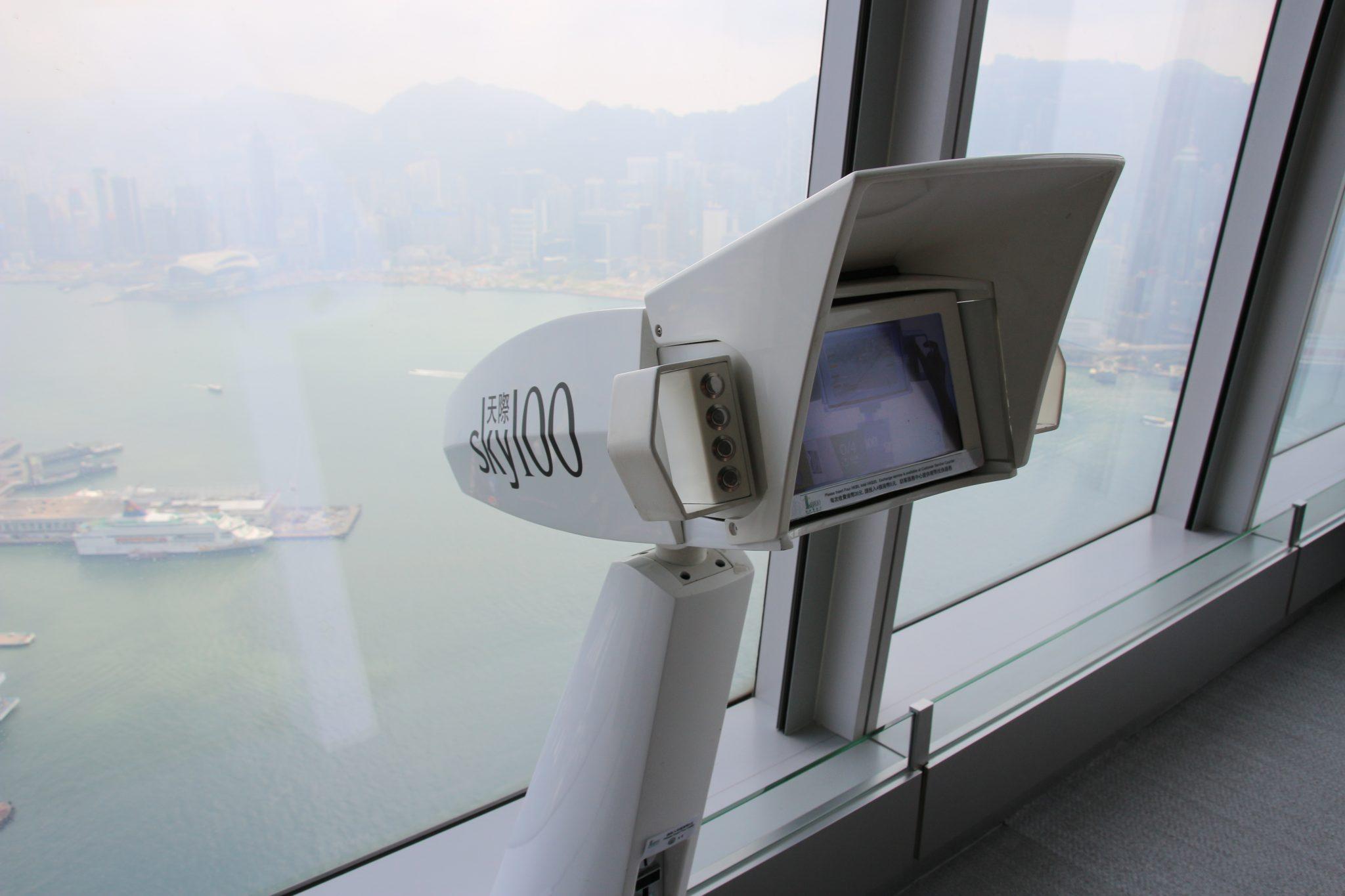 Sky 100 Observation Deck, Hong Kong