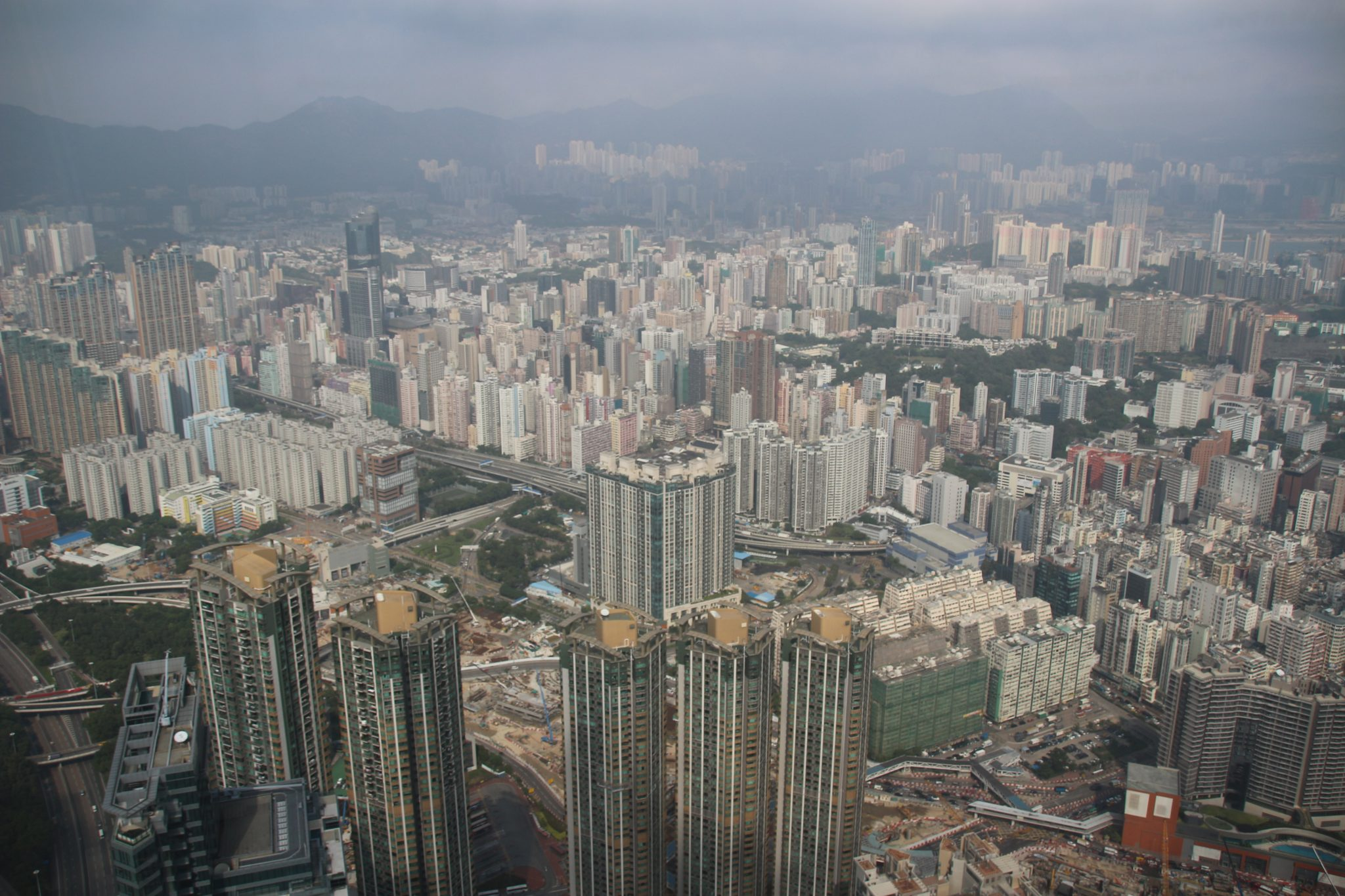View from the Sky 100 Observation Deck, Hong Kong