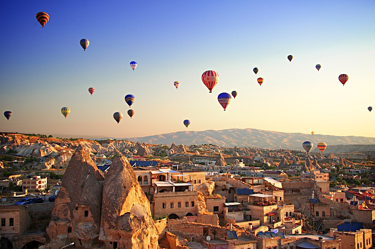Balloon Ride over Cappadocia