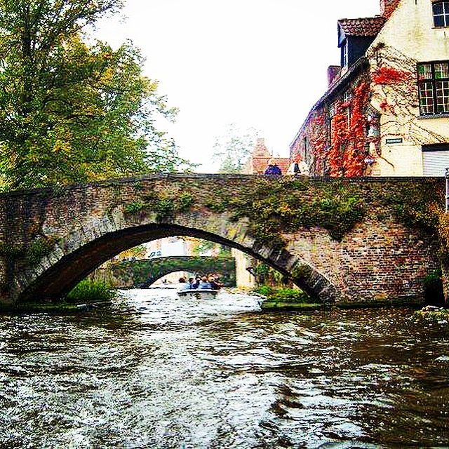 Beautiful Bruges in the summer