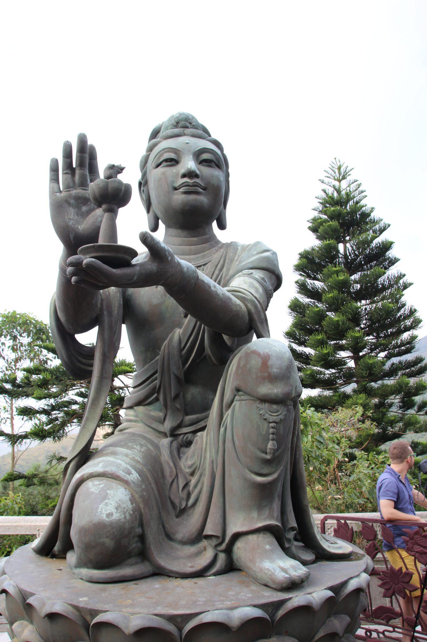 One of the Six Devas at providing an offering to the Big Buddha, Lantau Island