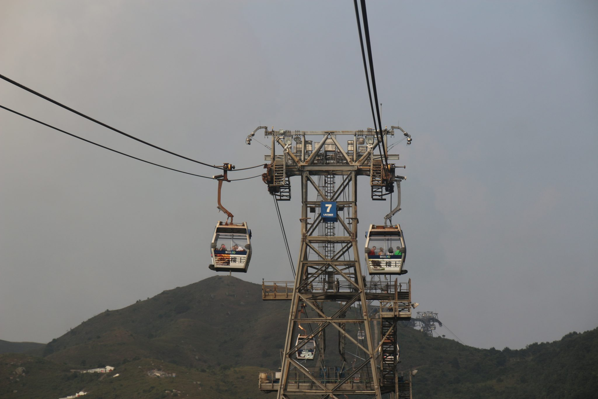 Cable car from Tung Chung to Lantau