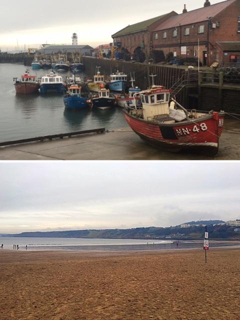 Scarborough beach & sea front