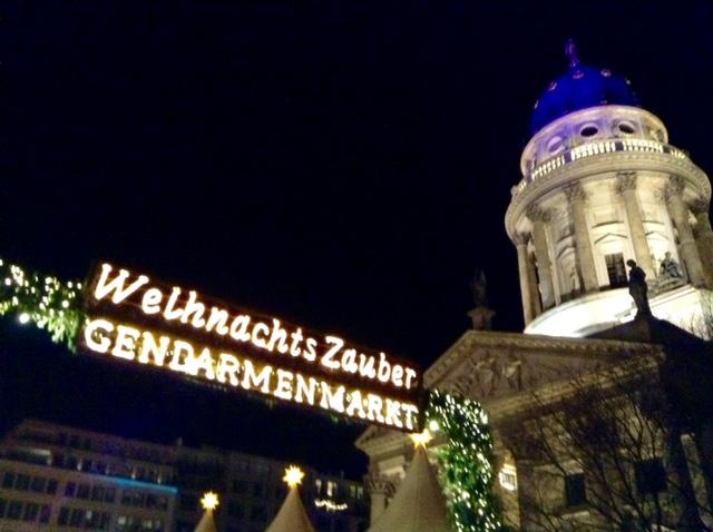 Germany: Glittering Gendarmenmarkt Christmas Market, Berlin