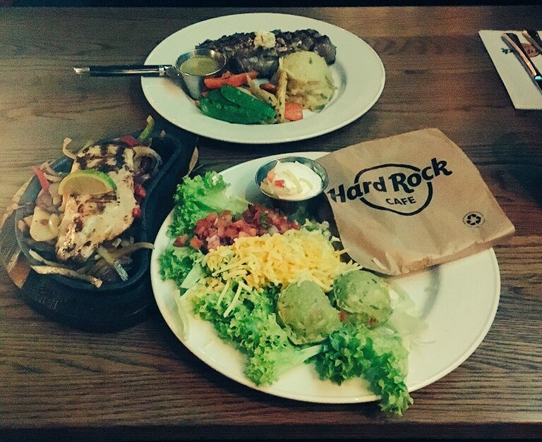 Relish food in Hard Rock Cafe, Gothenburg