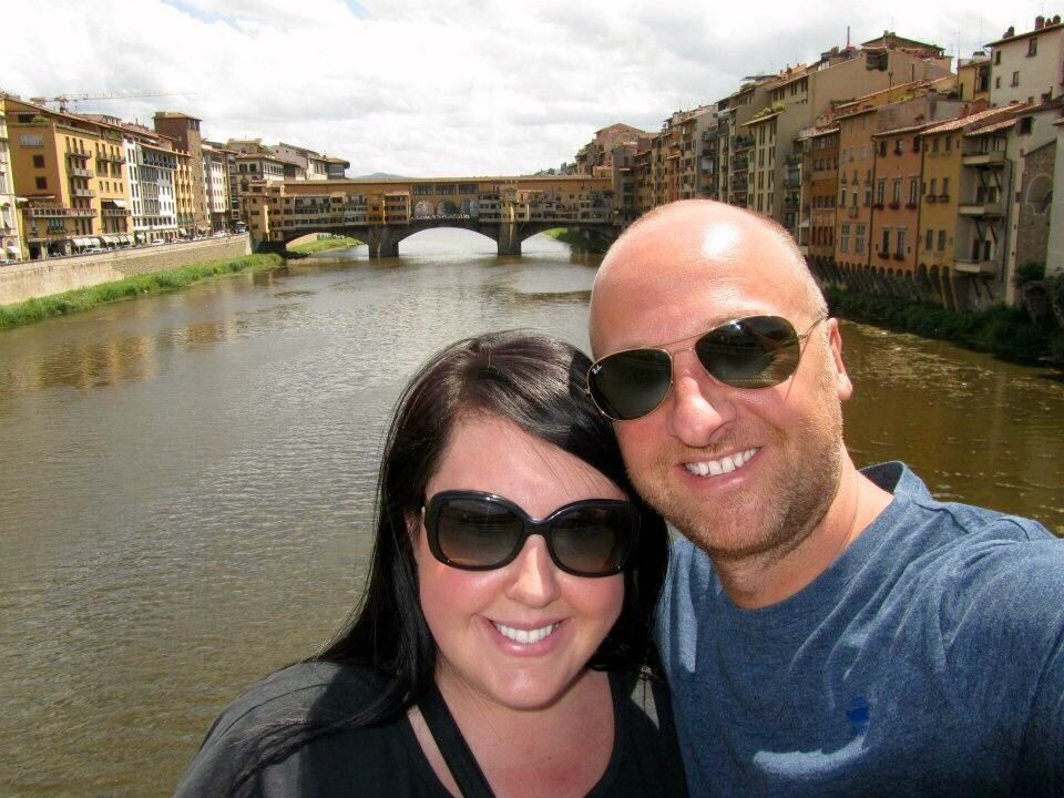 Mr & Mrs ESLT in Florence, Italy