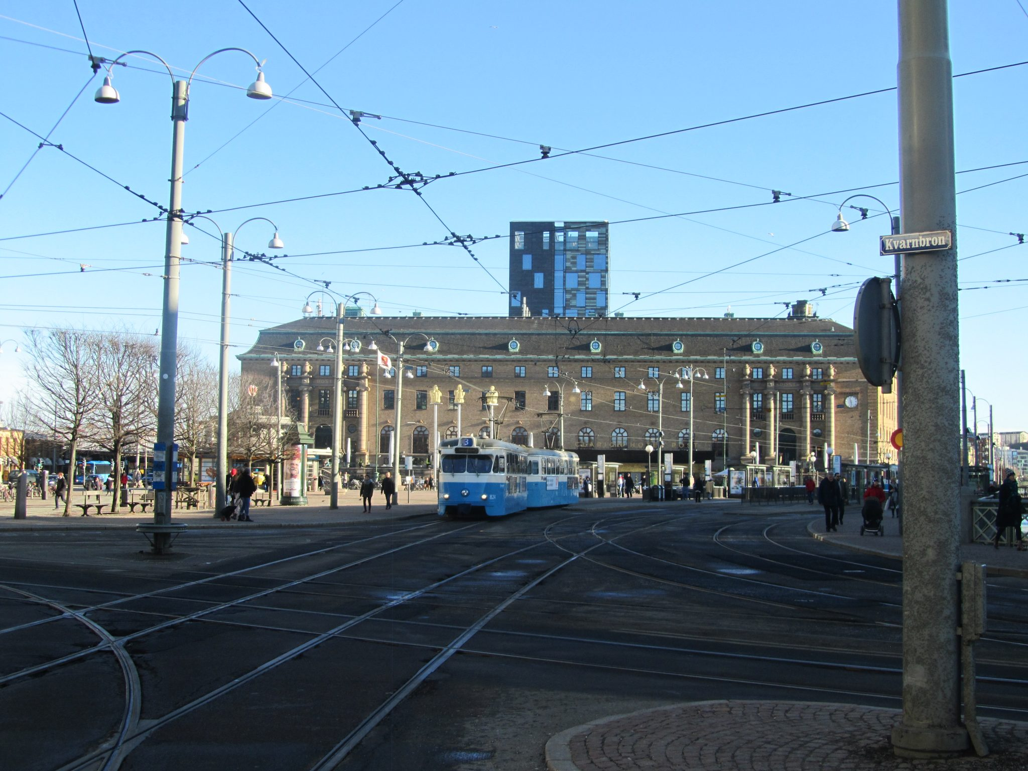 Central station and tram, Gothenburg