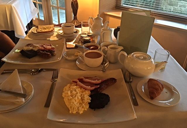 Breakfast at Ox Pasture Hall