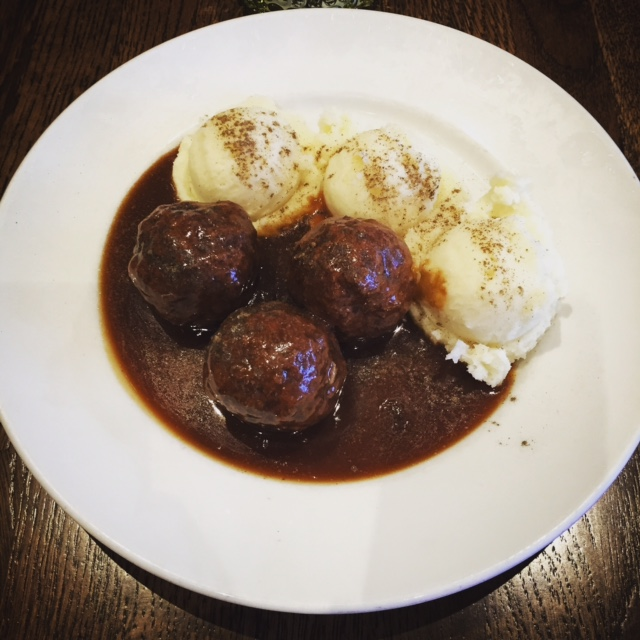 Swedish Meatballs in Gothenburg