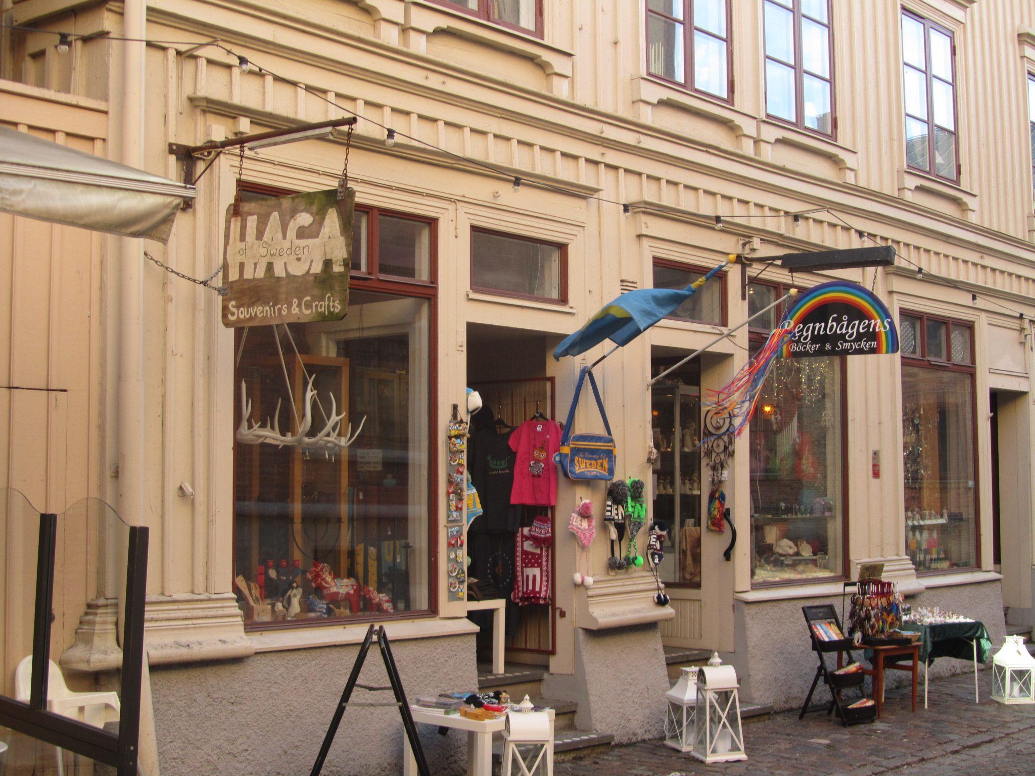 Craft shop in Haga, Gothenburg