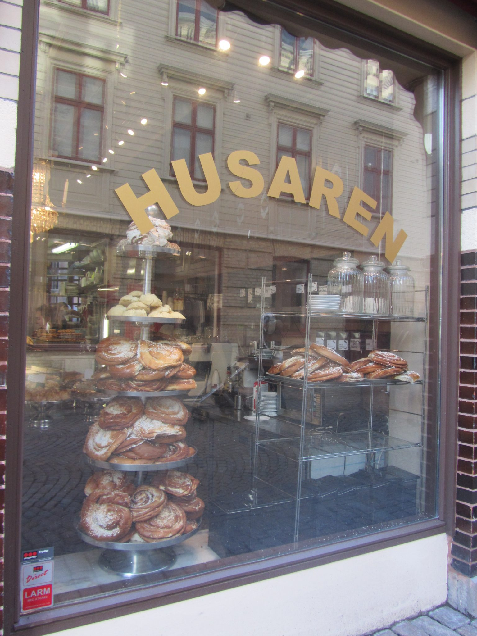 Cinnamon buns in Haga, Gothenburg