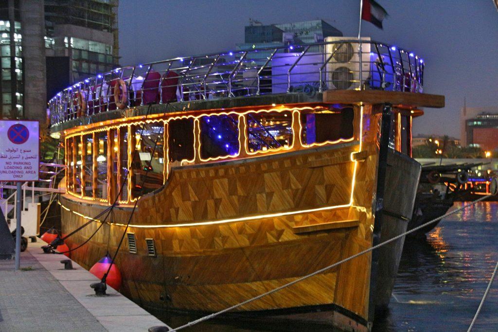 UAE: Dhow Dinner Cruise on the Dubai Creek