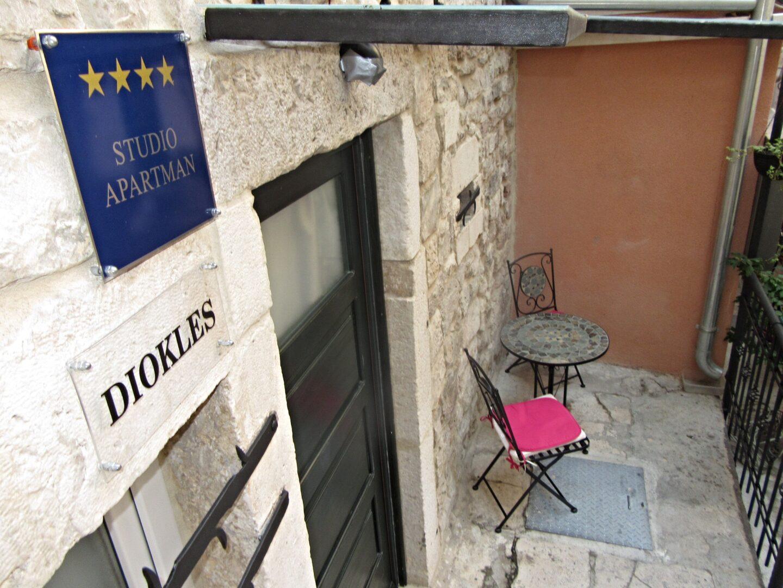 Croatia: Diokles Studio Apartman, Split