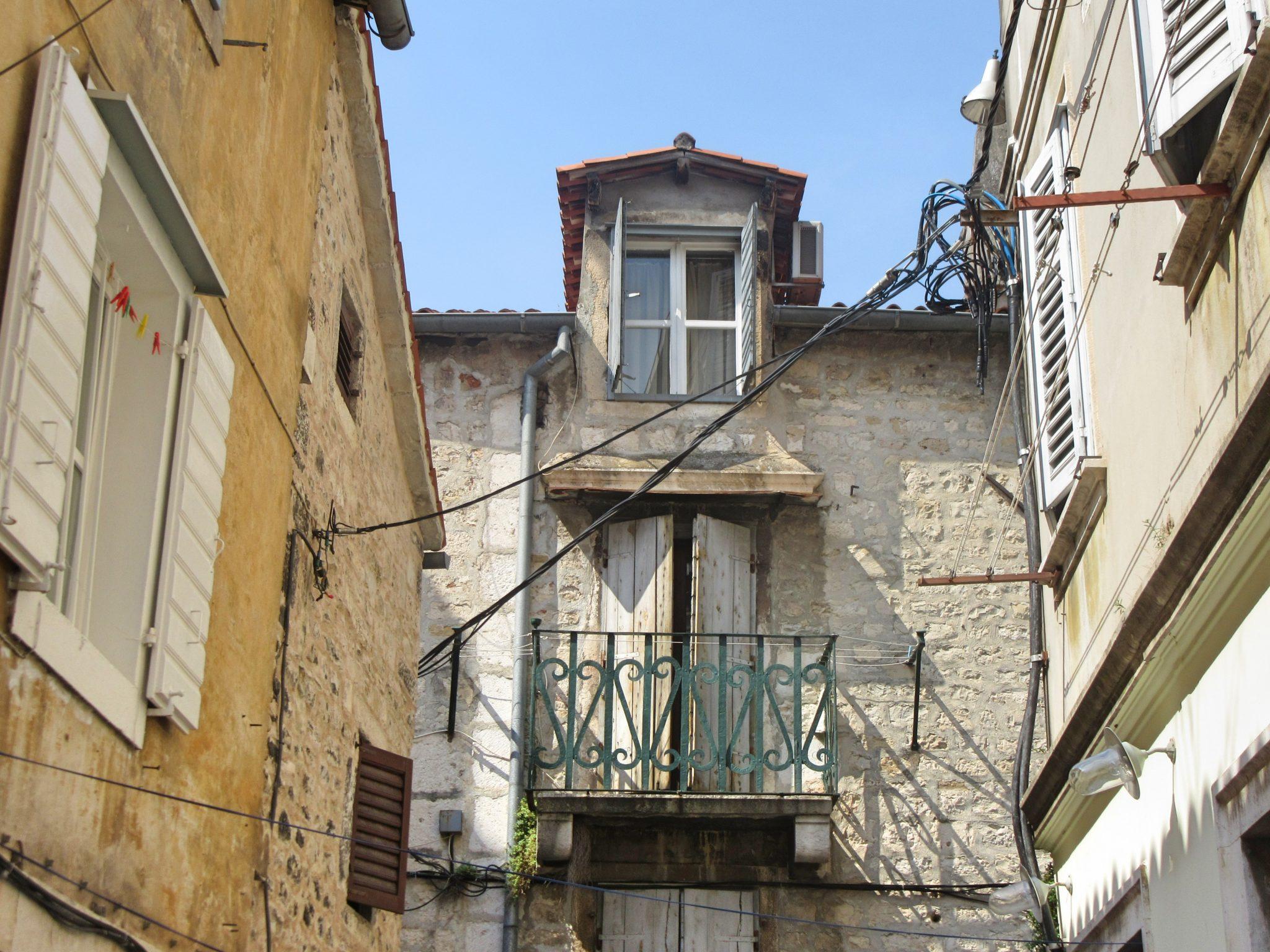Architecture in Split, Croatia