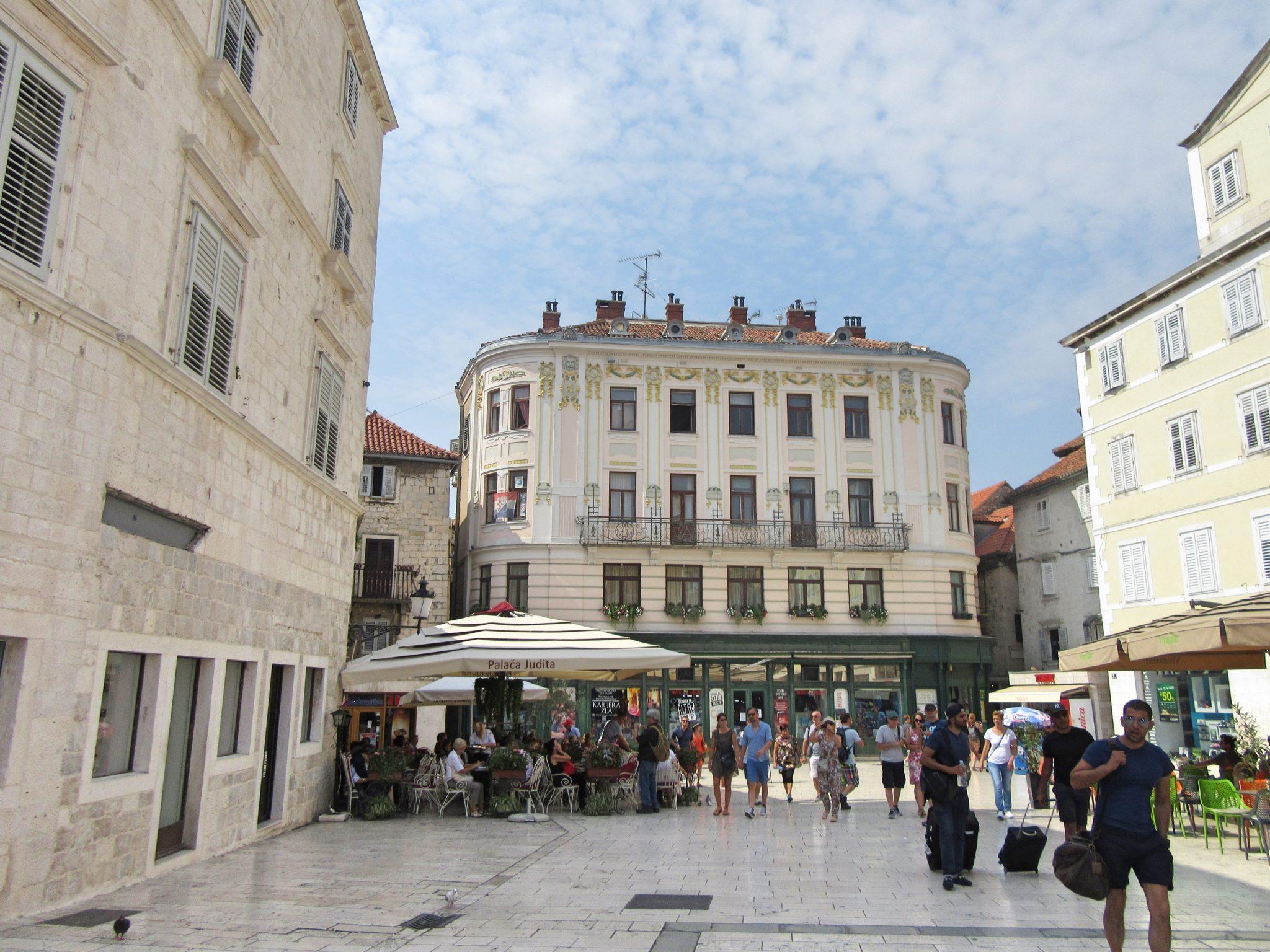 Narodni Trg - People's Square, Split, Croatia