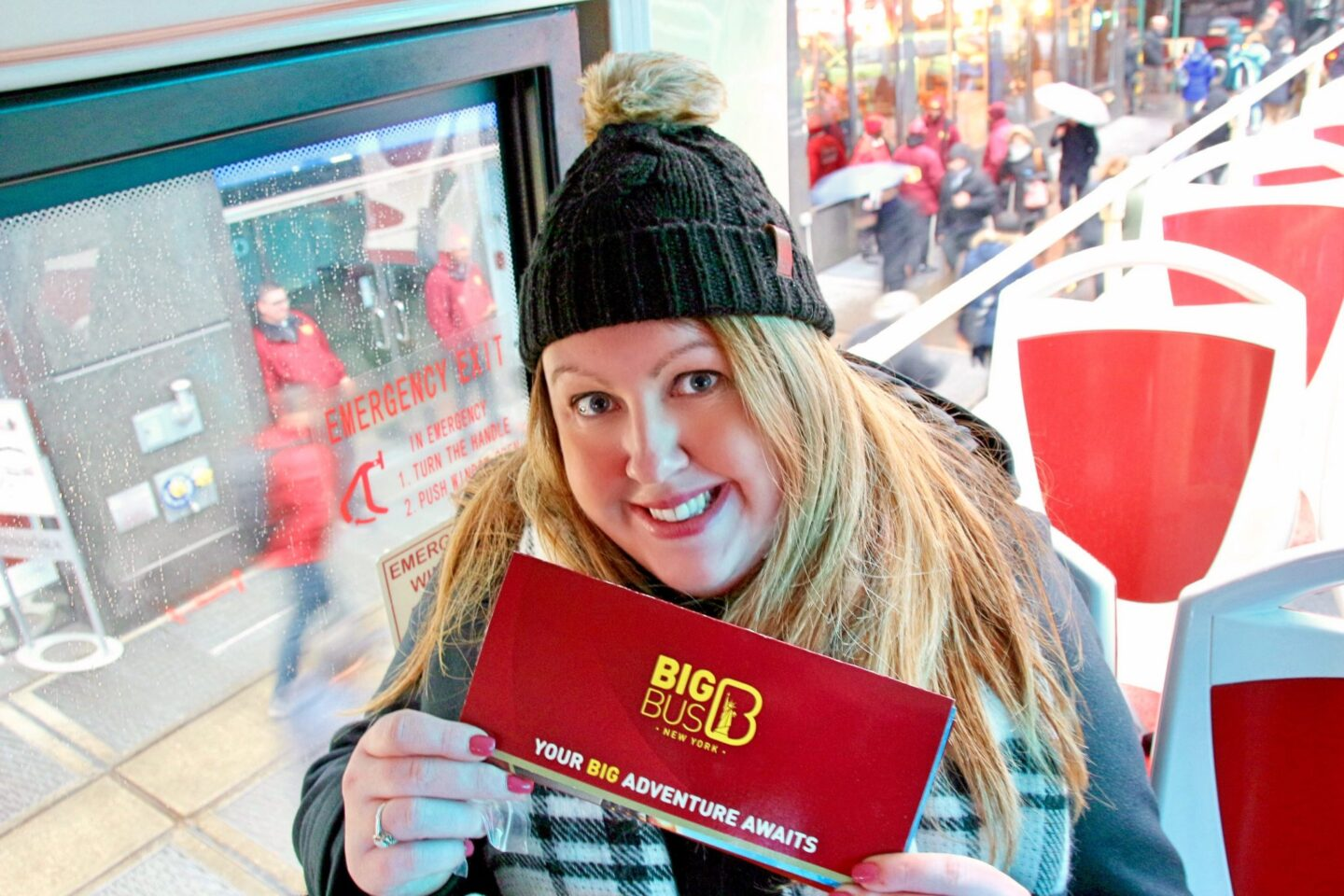 USA: Hopping Off & Hopping On With Big Bus Tours in New York