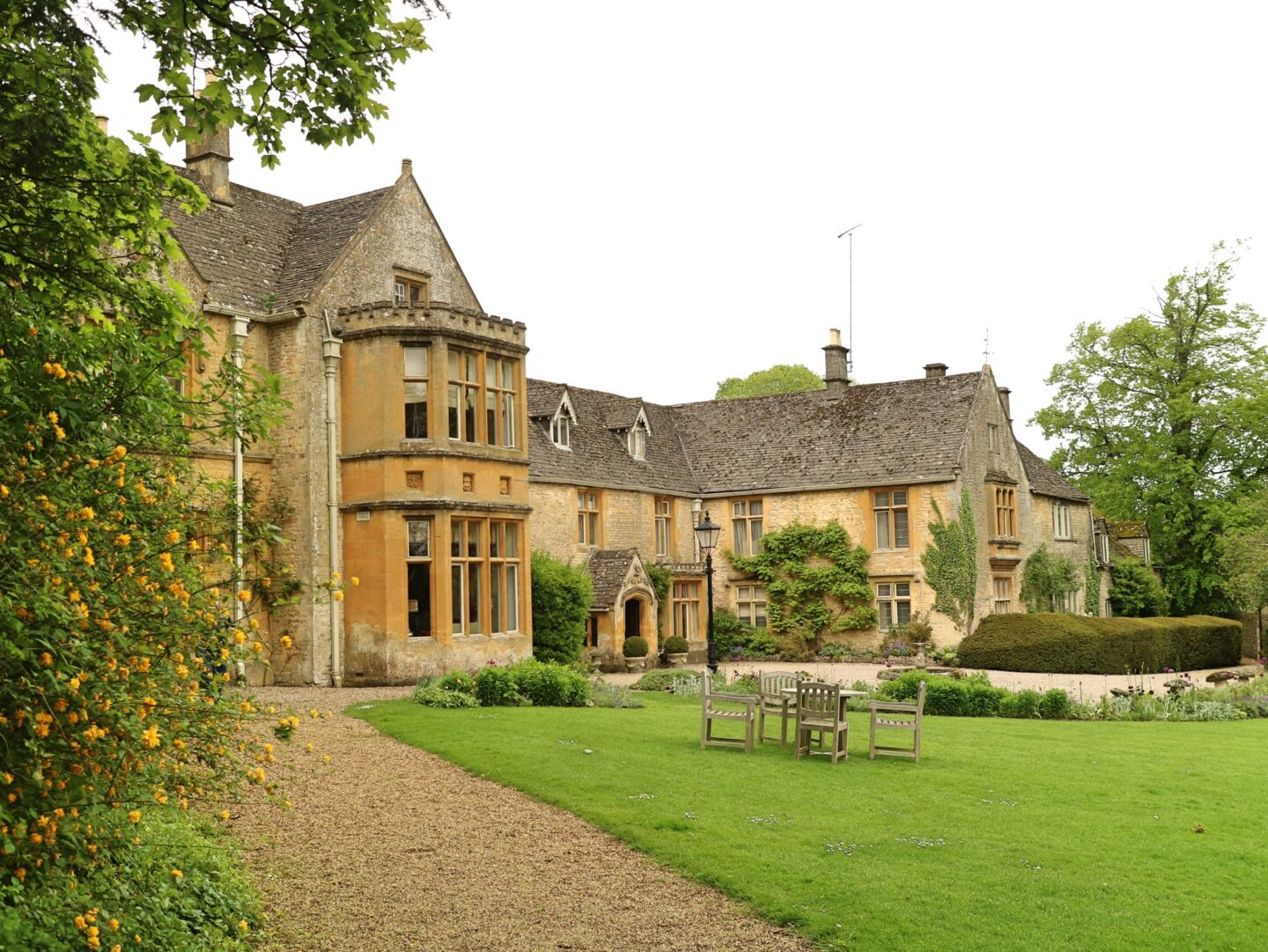 England Luxury At Lords Of The Manor Hotel With Michelin Star Dining Cotswolds