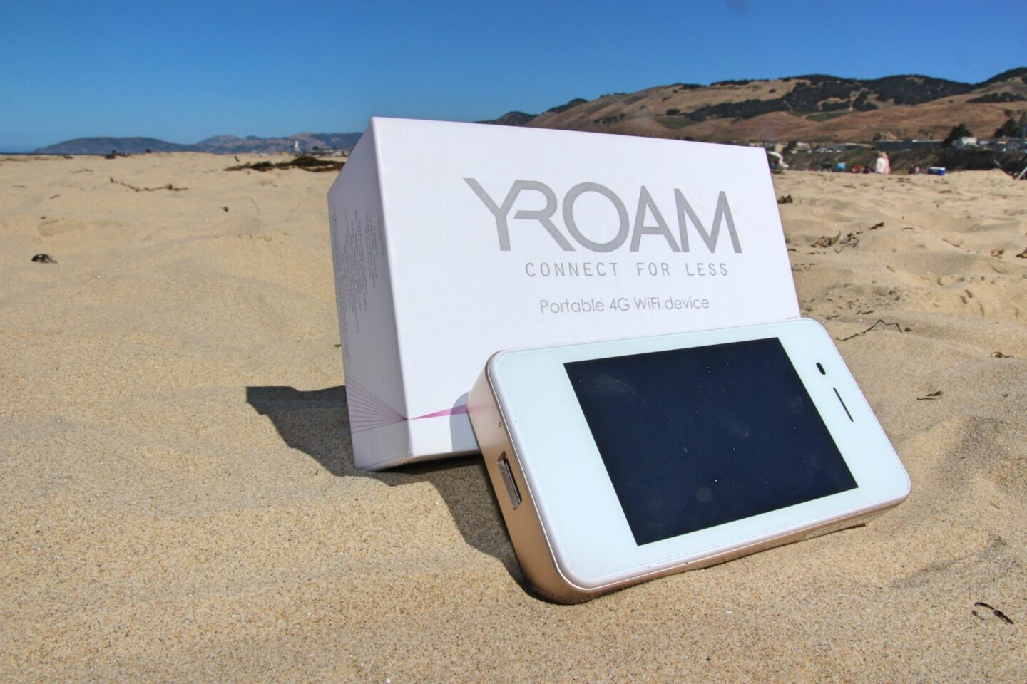 Roam Far and Wide with a YRoam Portable Wi-Fi Device