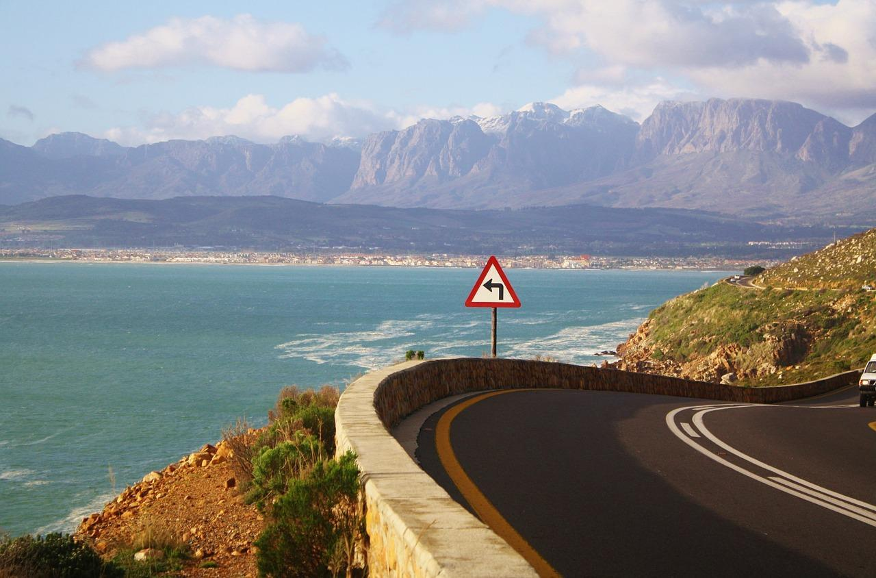Road in Cape Town, South Africa