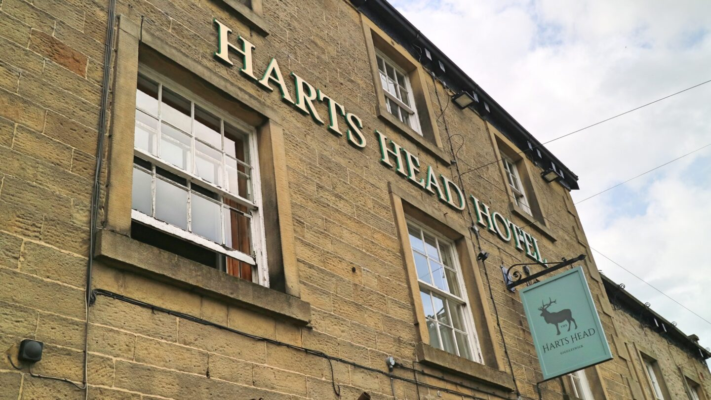 England: Hearty Meal at The Hart's Head Hotel, Giggleswick, Yorkshire Dales