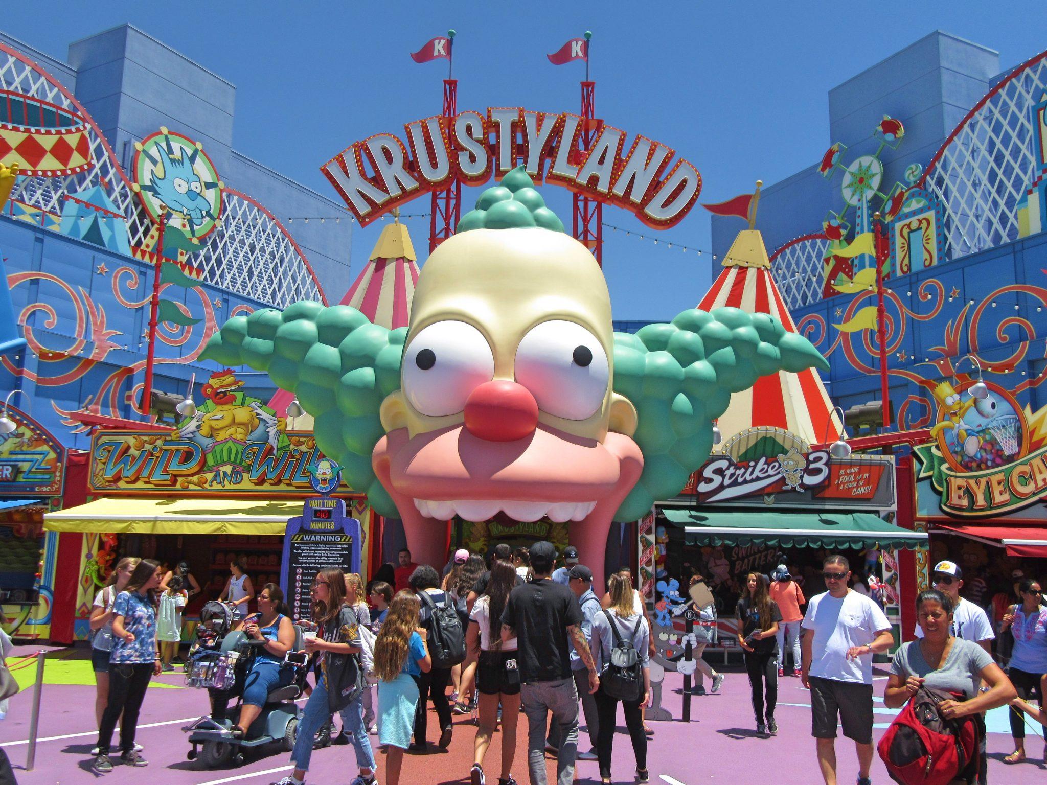 Springfield, Universal Studios Hollywood