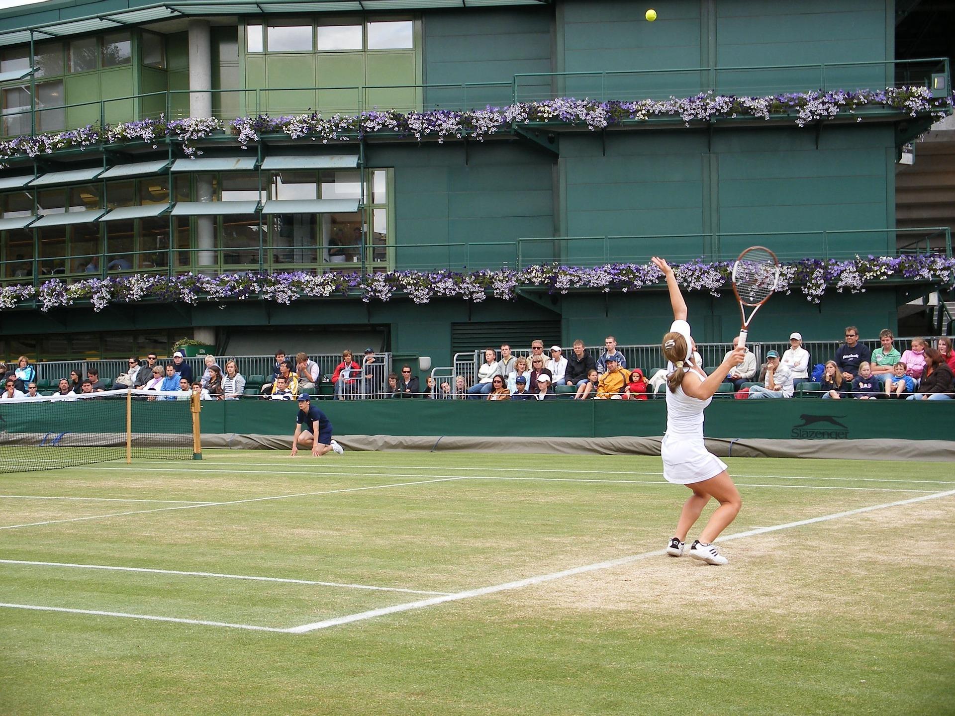 Tennis at Wimbledon, UK