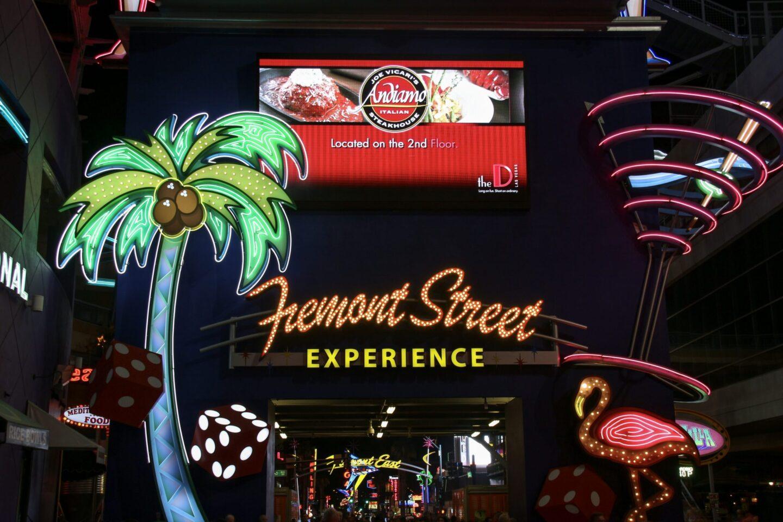 USA: An Evening in Downtown Las Vegas