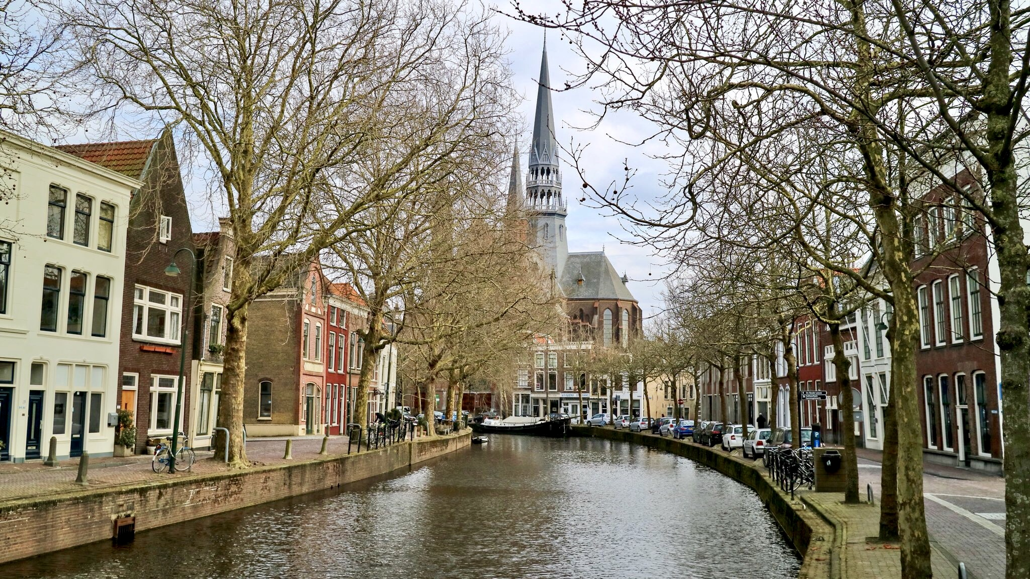 Gouda Canals, The Netherlands