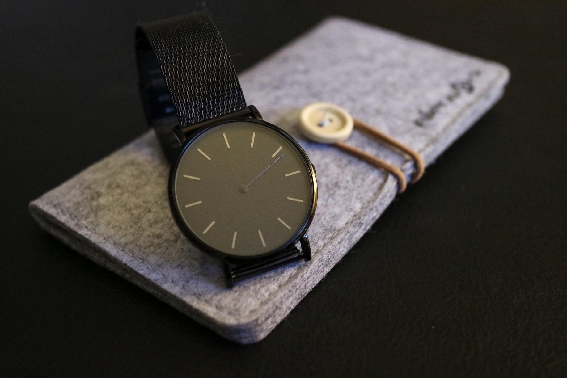 Stick to Timings - Alienwork Quartz Watch