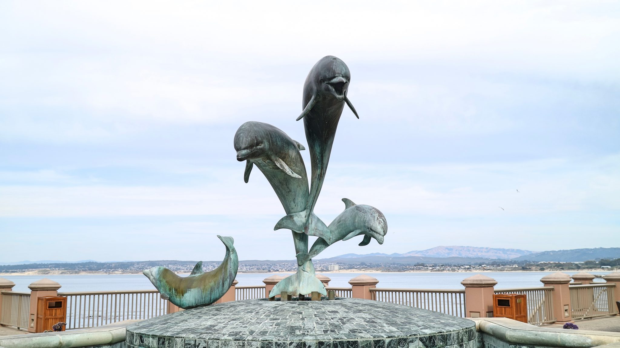 Dolphin Statue in Monterey, California