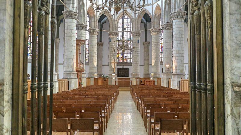 Inside St John's Church, Gouda, The Netherland